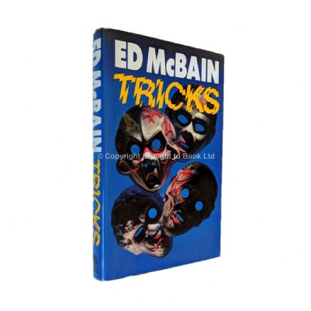 Tricks Signed by Ed McBain​​​​​​​ First Edition Hamish Hamilton 1987